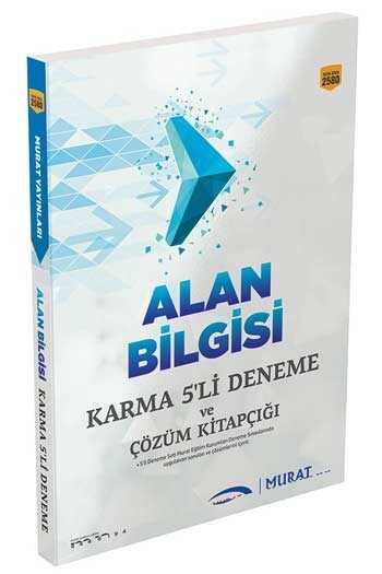 Murat Yayınları 2020 KPSS A Grubu Alan Bilgisi Karma 5'li Deneme ve Çözüm Kitapçığı