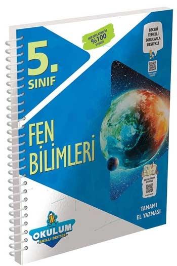 Murat Yayınları 5. Sınıf Fen Bilimleri Okulum Akıllı Defteri