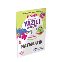 Murat Yayınları - Murat Yayınları 5. Sınıf Matematik Öğretmenimin Yazılı Soruları