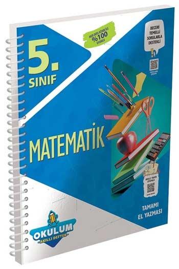 Murat Yayınları 5. Sınıf Matematik Okulum Akıllı Defteri