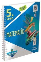 Murat Yayınları - Murat Yayınları 5. Sınıf Matematik Okulum Akıllı Defteri