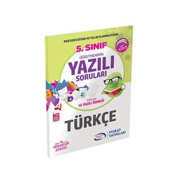 Murat Yayınları - Murat Yayınları 5. Sınıf Türkçe Öğretmenimin Yazılı Soruları