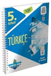 Murat Yayınları - Murat Yayınları 5. Sınıf Türkçe Okulum Akıllı Defteri