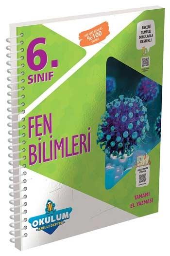 Murat Yayınları 6. Sınıf Fen Bilimleri Okulum Akıllı Defteri