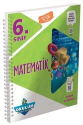 Murat Yayınları - Murat Yayınları 6. Sınıf Matematik Okulum Akıllı Defteri