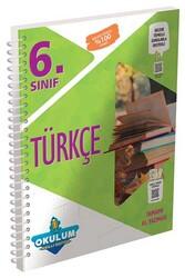 Murat Yayınları - Murat Yayınları 6. Sınıf Türkçe Okulum Akıllı Defteri