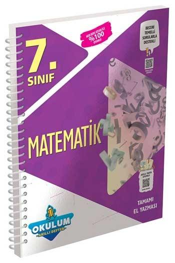 Murat Yayınları 7. Sınıf Matematik Okulum Akıllı Defteri