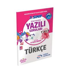 Murat Yayınları - Murat Yayınları 7. Sınıf Türkçe Öğretmenimin Yazılı Soruları