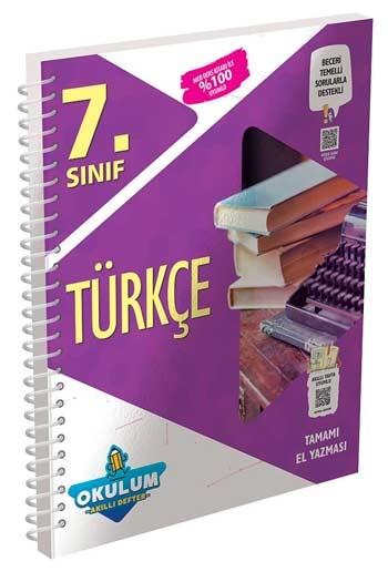 Murat Yayınları 7. Sınıf Türkçe Okulum Akıllı Defteri