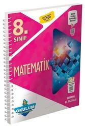 Murat Yayınları - Murat Yayınları 8. Sınıf Matematik Okulum Akıllı Defteri
