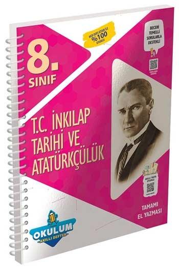 Murat Yayınları 8. Sınıf T.C. İnkılap Tarihi ve Atatürkçülük Okulum Akıllı Defteri