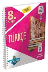 Murat Yayınları - Murat Yayınları 8. Sınıf Türkçe Okulum Akıllı Defteri