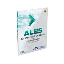 Murat Yayınları - Murat Yayınları ALES Karma 3 lü Deneme ve Çözüm Kitapçığı