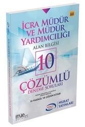 Murat Yayınları - Murat Yayınları İcra Müdür ve Müdür Yardımcılığı Alan Bilgisi 10 Çözümlü Deneme Soruları