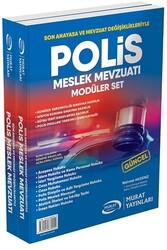 Murat Yayınları - Murat Yayınları Polis Meslek Hukuku ve Mevzuatı Modüler Set