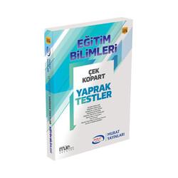 Murat Yayınları - Murat Yayınları KPSS Eğitim Bilimleri Çek Kopart Yaprak Testler