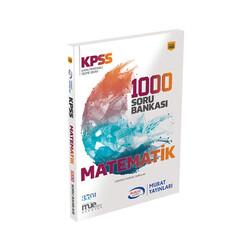 Murat Yayınları - Murat Yayınları KPSS Matematik 1000 Soru Bankası Kod 1092