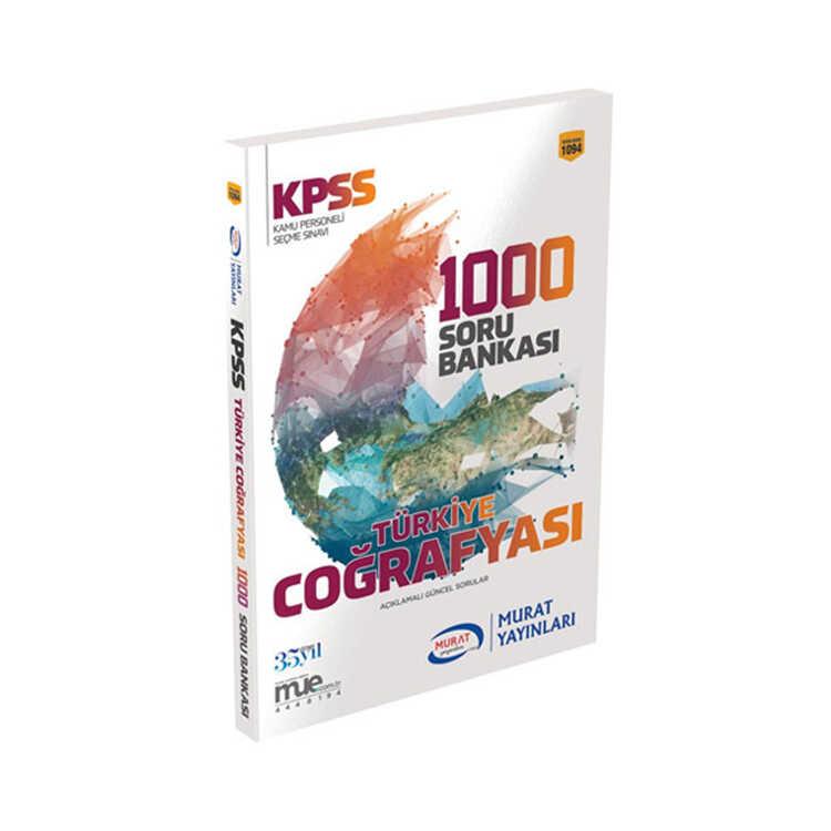 Murat Yayınları KPSS Türkiye Coğrafyası 1000 Soru Bankası Kod 1094