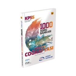 Murat Yayınları - Murat Yayınları KPSS Türkiye Coğrafyası 1000 Soru Bankası Kod 1094