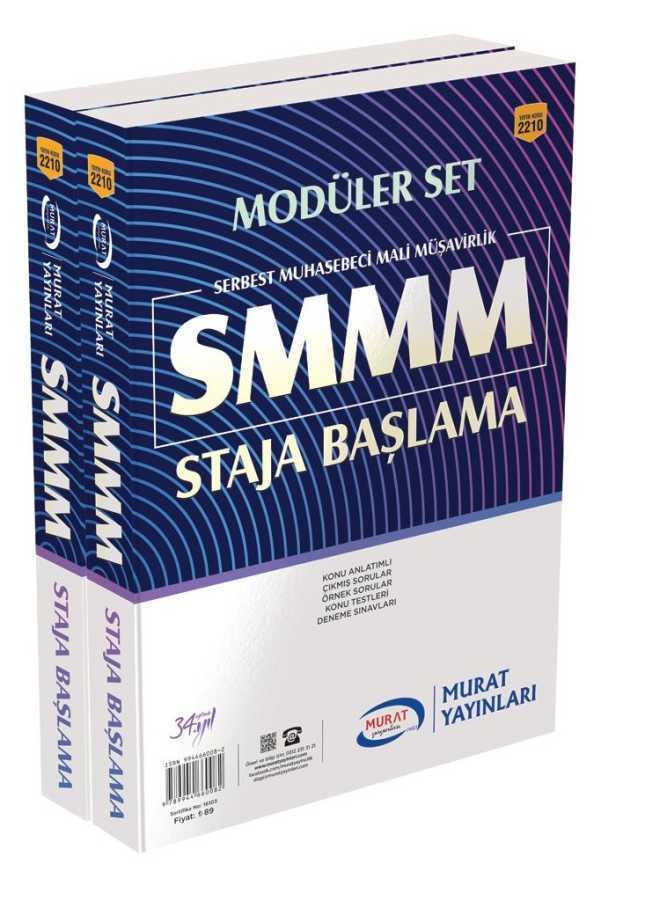 Murat Yayınları SMMM Staja Başlama Konu Anlatımlı Modüler Set