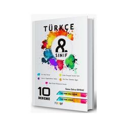 Mürekkep Yayınları - Mürekkep Yayınları 8. Sınıf Türkçe 10 Deneme