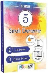 Mürekkep Yayınları - Mürekkep Yayınları 9.Sınıf Sıralı 5 Deneme