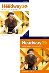 Oxford Üniversity Press - New Headway Pre Intermediate Students Book + Workbook Without Key 5th Edition