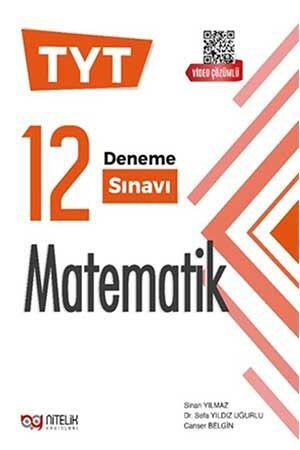 Nitelik Yayınları 2021 TYT Matematik 12 Deneme Sınavı
