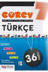 Nitelik Yayınları - Nitelik Yayınları 7. Sınıf Türkçe Görev Yeni Nesil Çalışma Föyleri