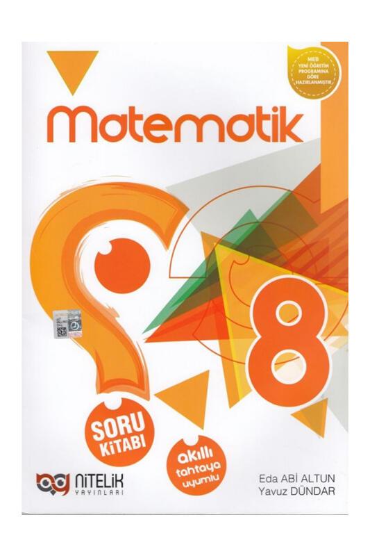 Nitelik Yayınları 8. Sınıf Matematik Soru Kitabı