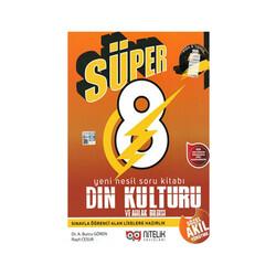 Nitelik Yayınları - Nitelik Yayınları 8. Sınıf Süper Din Kültürü ve Ahlak Bilgisi Yeni Nesil Soru Kitabı