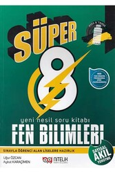 Nitelik Yayınları - Nitelik Yayınları 8. Sınıf Süper Fen Bilimleri Yeni Nesil Soru Kitabı