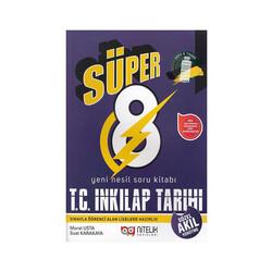 Nitelik Yayınları - Nitelik Yayınları 8. Sınıf Süper T. C. İnkılap Tarihi ve Atatürkçülük Soru Kitabı