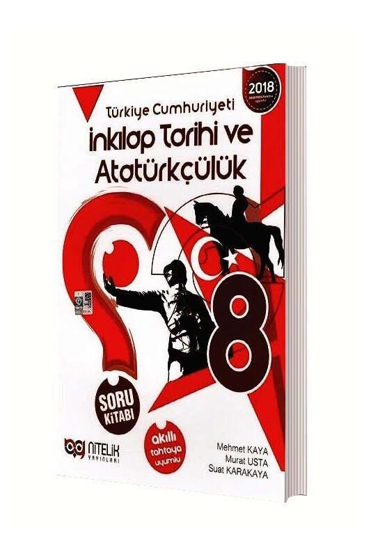 Nitelik Yayınları 8. Sınıf T.C. İnkılap Tarihi ve Atatürkçülük Soru Kitabı