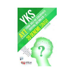 Nitelik Yayınları - Nitelik Yayınları AYT Türk Dili ve Edebiyatı Sosyal Bilimler 1 20 Deneme Sınavı
