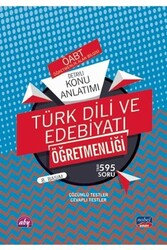 Nobel Yayınevi - Nobel Yayınları 2020 ÖABT Türk Dili ve Edebiyatı Öğretmenliği Detaylı Konu Anlatımı