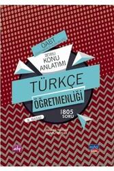 Nobel Yayınevi - Nobel Yayınları 2020 ÖABT Türkçe Öğretmenliği Detaylı Konu Anlatımı