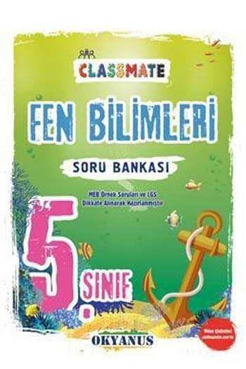 Okyanus Yayınları 5. Sınıf Classmate Fen Bilimleri Soru Bankası