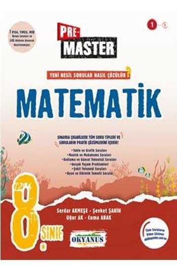 Okyanus Yayınları 8. Sınıf Premaster Matematik Soru Bankası