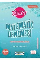 Okyanus Yayınları - Okyanus Yayınları AYT Matematik 30 Deneme