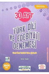 Okyanus Yayınları - Okyanus Yayınları AYT Türk Dili ve Edebiyatı 30 Denemesi