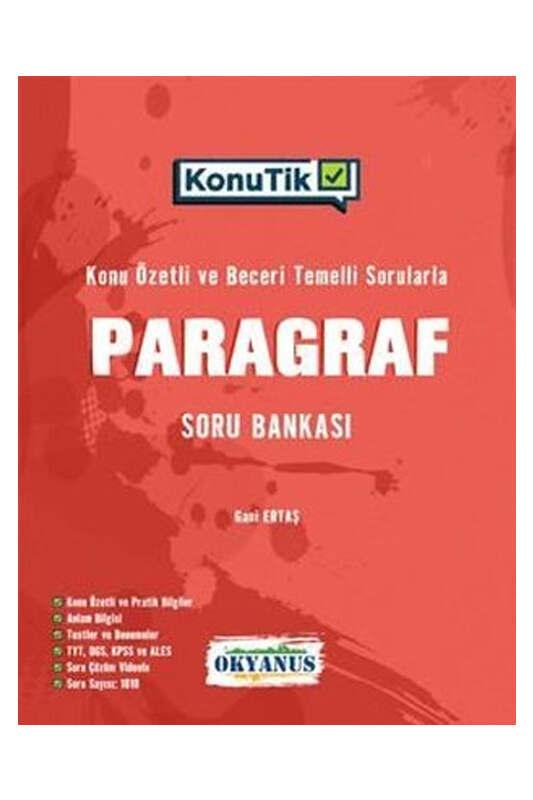 Okyanus Yayınları YKS KonuTik Paragraf Soru Bankası
