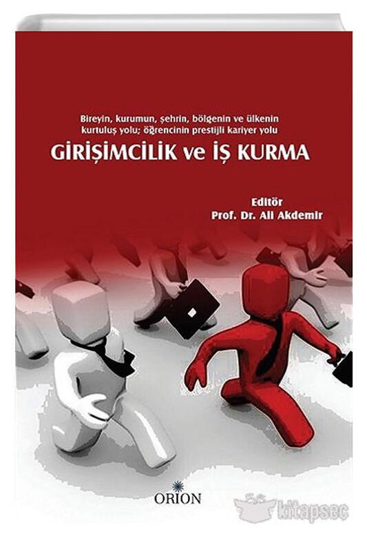 Orion Kitabevi Girişimcilik ve İş Kurma Ali Akdemir