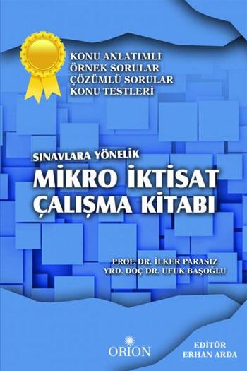 Orion Kitabevi Mikro İktisat Çalışma Kitabı