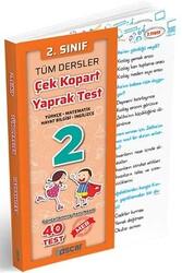 Oscar Yayınları - Oscar Yayınları 2. Sınıf Tüm Dersler Çek Kopart Yaprak Test
