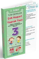 Oscar Yayınları - Oscar Yayınları 3. Sınıf Tüm Dersler Çek Kopart Yaprak Test