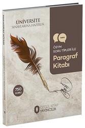 Özgül Yayınları - Özgül Yayınları Üniversite Sınavlarına Hazırlık Paragraf Kitabı