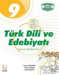 Palme Yayıncılık - Palme Yayıncılık 9. Sınıf Türk Dili ve Edebiyatı Konu Anlatımlı