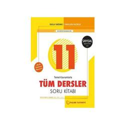 Palme Yayıncılık - Palme Yayınları 11. Sınıf Sayısal Tüm Dersler Soru Kitabı