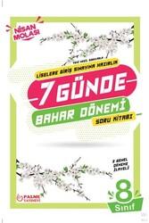 Palme Yayıncılık - Palme Yayınları 8. Sınıf LGS 7 Günde Bahar Dönemi Soru Kitabı